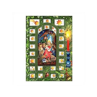 Alexander Taron Small Religious Advent Calendar with Bible Verses