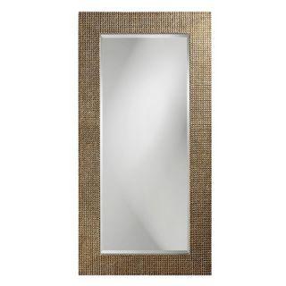 Howard Elliott Lancelot Wall Mirror in Mother of Pearl Silver Leaf