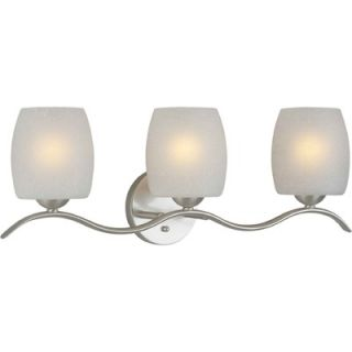 Forte Lighting Three Light Vanity Light   5251 03 55 / 5251 03 64