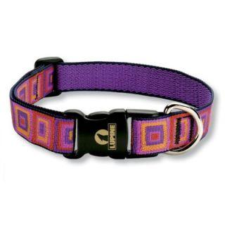 Lupine Ruby Cube 1 Adjustable Large Dog Collar   WLF33352/53/54