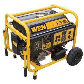 WEN 7000 Watt Portable Generator With Wheel Kit