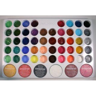 SnazarooUSA Face Paint Professional 54 Color Palette