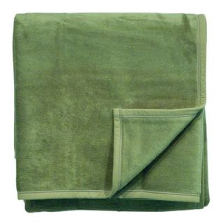 Bocasa Blankets Woven Throw Blanket in Kelly