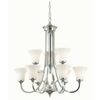 Kenroy Home Ewing 9 Light Chandelier