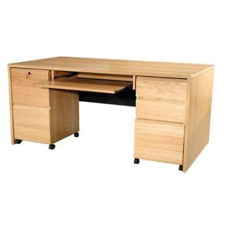 Rush Furniture Modular Real Oak Wood Veneer 67
