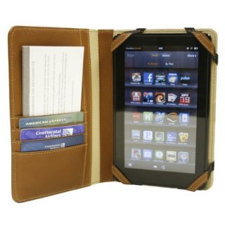Piel Kindle Fire Case with Tab Closure