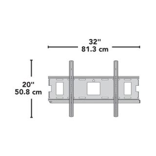 Series Low Profile Wall Mount for 32   63 Flat Panel TVs   MLL12 B1