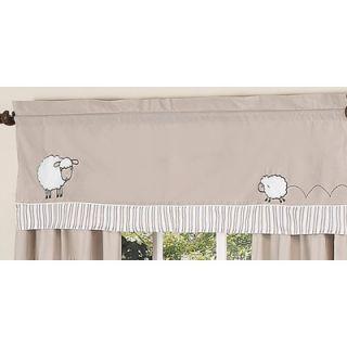 Sweet Jojo Designs Little Lamb Window Valance   Valance Lamb