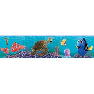 Blue Mountain Finding Nemo Self Stick Wall Border   DS026240