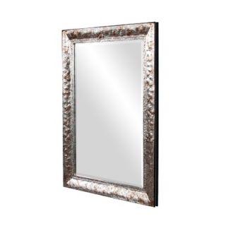 Howard Elliott Tatum Mirror in Hammered Texture