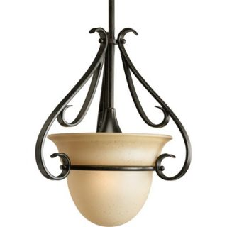 Progress Lighting Torino 1 Light Stem Hang Mini Pendant   P5144 77
