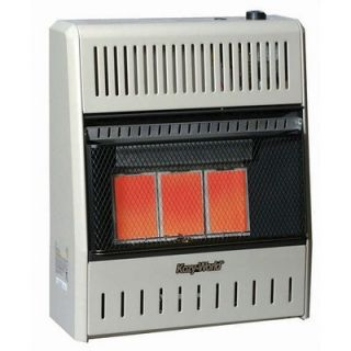 World Marketing 18,000 BTU Infrared Natural Gas Wall Space Heater