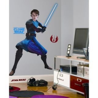 Room Mates The Clone Wars Giant Anakin Peel and Stick Wall Decal