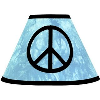 Sweet Jojo Designs Peace Blue Lamp Shade   Lamp Peace BU
