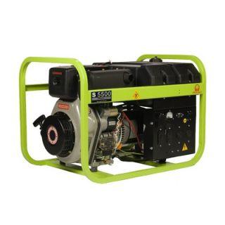 Pramac 5500 Watt Portable Diesel Generator with Electric Start