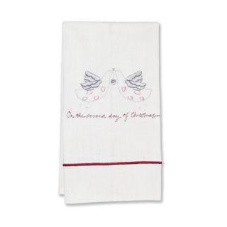 Jacaranda Living Second Day of Christmas Hand Towel   DG84 SDC