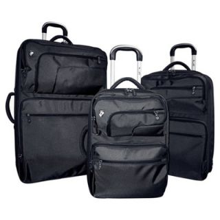 Heys USA Hybrid Fuse X2 3 Piece Spinner Luggage Set