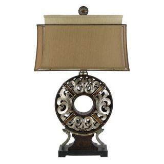Kathy Ireland Home Polynesian Heritage Table Lamp   87 659 20
