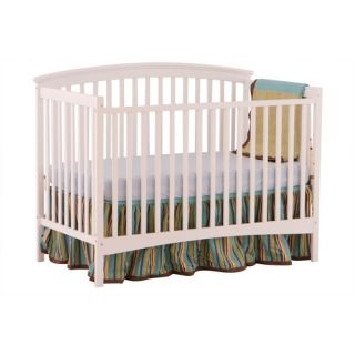 Two Piece Convertible Crib Set in Natural / White   100 NW / 101 NW