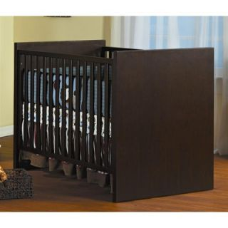 Milano Two Piece Convertible Crib Set in Mocacchino   100 M / 101 M