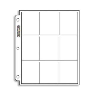 Platinum Series Card Display Box (9 Pocket Pages, 100 Count)