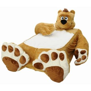 Incredibeds Fuzzy Brown Bear Twin Bed Cover   PBF BB101