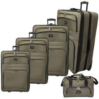McBrine Luggage 5 Piece Luggage Set
