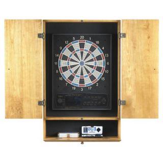 Viper Oak Dart Board Cabinet With Oak Finish   40   1012