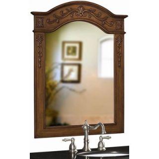 Belle Foret Single Oak Mirror