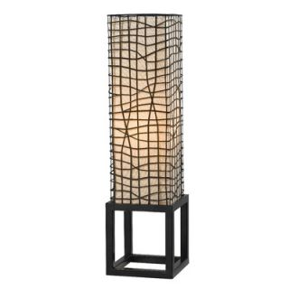 Kenroy Home Fortress One Light Table Lamp in Bronze   21068BRZ