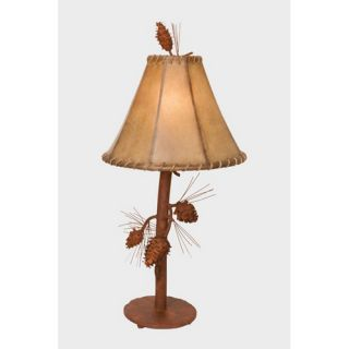 Industries Two Birds Iron Table Lamp in Antique White   113 1134