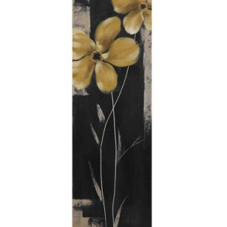 Yosemite Home Decor Yellow Star Bloom II Canvas Art   YE110525B