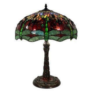 Warehouse of Tiffany Dragonfly Mosaic Table Lamp   SS308B+BB449