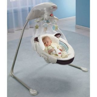 Fisher Price My Little Lamb Dreamy Motions Cradle Swing