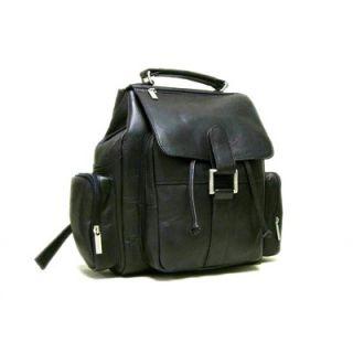 Le Donne Leather Multi Pocket Backpack