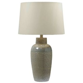 Kenroy Home Dixey One Light Table Lamp in Iridescent Ceramic