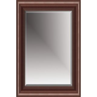 Michael Payne Beveled Mirror with Polystyreen Frame in Cherry