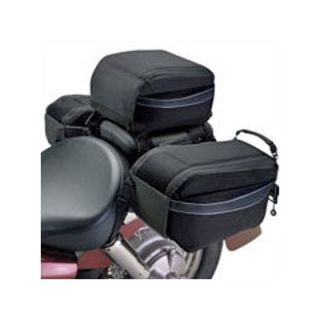 Classic Accessories Moto Gear Motorcycle Tail Bag with Optional Saddle