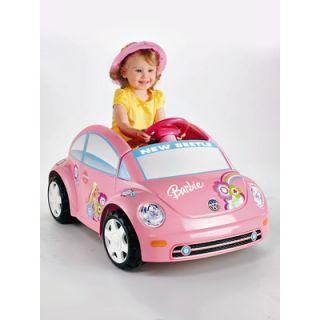 Fisher Price Power Wheels Barbie™ Volkswagen® New Beetle
