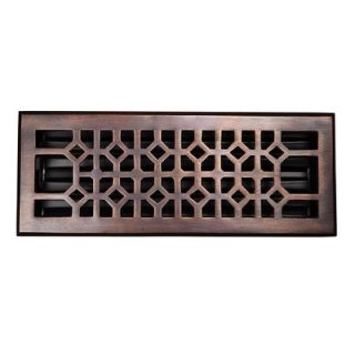 The Copper Factory Solid Cast 100% Copper Decorative 4 x 12 Floor