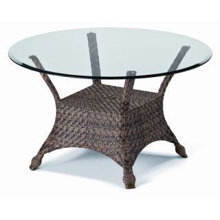 Oakland Living Stone Art Dining Table with Stainless Steel Ice Bucket