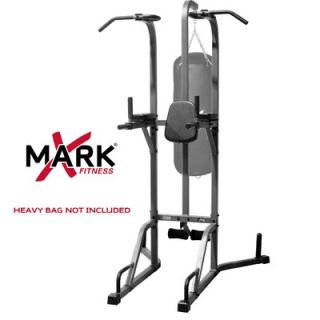 Mark Commercial Full Heavy Bag Stand with Speed Bag Platform   XM