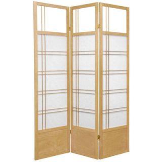 Oriental Furniture Kumo Classic Shoji Room Divider in Natural
