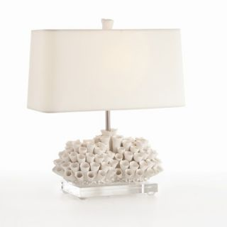 ARTERIORS Home Cassidy Handmade White Porcelain and Acrylic Lamp with