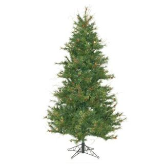 Vickerman Mixed Country Pine 6.5 Slim Artificial Christmas Tree