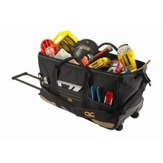 CLC Tool Bag 30 Pocket   24 Roller Tote Bag 12 H x 24 W x 11 D