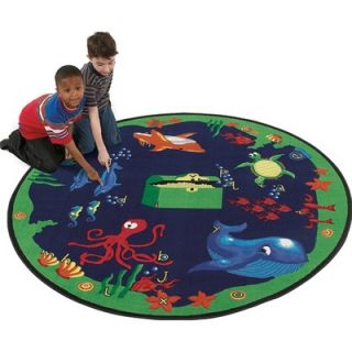 Flagship Carpets Educational Sea Hunt Kids Rug