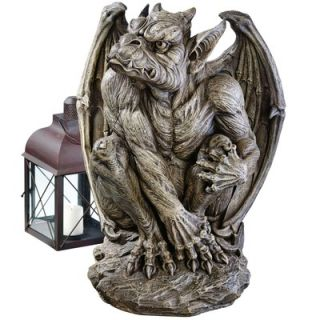 Design Toscano Silas The Sentry Gargoyle Statue   JE11211701