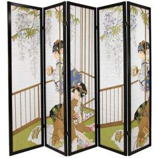 Oriental Furniture Geisha Decorative Shoji Room Divider   SS GEISHA