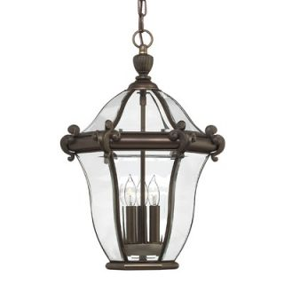 Hinkley Lighting San Clemente Outdoor Pendant in Copper Bronze